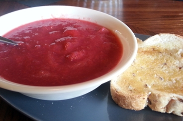 Strawberry and Rhubarb Compote